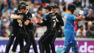 ICC World Cup 2019 MATCH HIGHLIGHTS 1st Semi-Final Match: Jadeja, Dhoni Heroics in Vain as New Zealand Beat India by 18 Runs to Enter Final