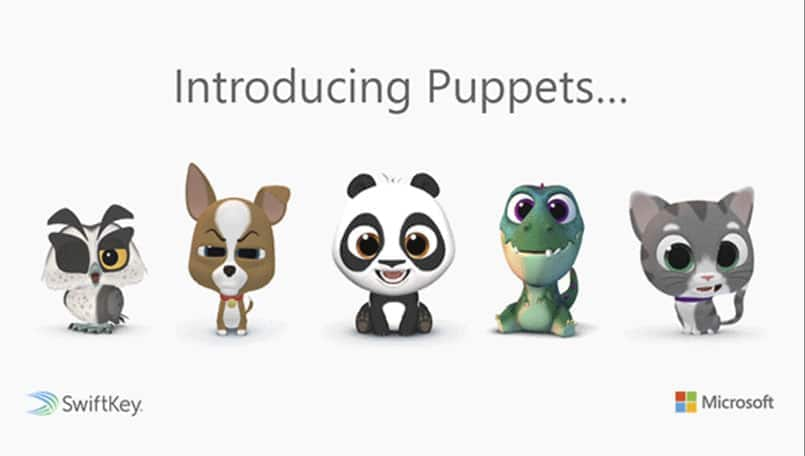 Microsoft SwiftKey Puppets: Animated animals available on beta version for Android