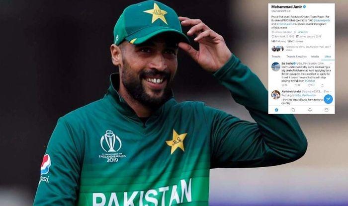 Mohammad Amir Likes Controversial Tweet, Should Leave This Terrorist Country, Mohammad Amir retirement, Mohammad Amir retires, Pakistan Cricket Team, Cricket News, British Passport
