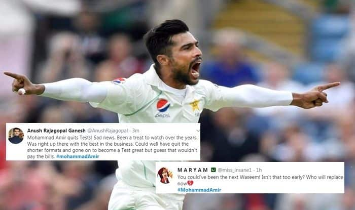 Mohammad Amir, Mohammad Amir Retires, Mohammad Amir Retires From Test Cricket, Pakistan Cricket Team, Cricket News, Pakistan fast bowler Mohammad Amir, Pakistan Cricket Board, ICC T20 World Cup