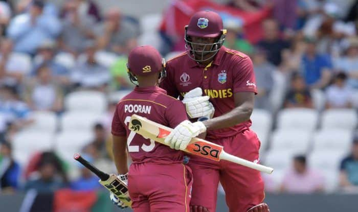 ICC Cricket World Cup 2019, ICC World Cup 2019, Afghanistan vs West Indies, AFG vs WI World Cup, Cricket News, Jason Holder, Rashid Khan, Gulbadin Naib, Nicholas Pooran, Afghanistan vs West Indies, AFG vs WI World Cup 2019, AFG vs WI Mid-innings report