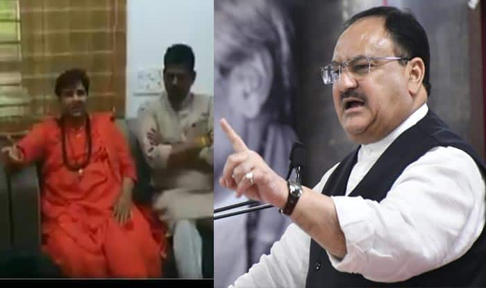BJP MP Pragya Thakur Pulled up by Working President Nadda For Comment