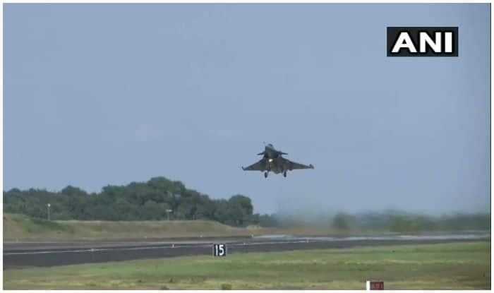 IAF Receives First Rafale Aircraft, It's Tail Number Named After Air Marshal RKS Bhadauria