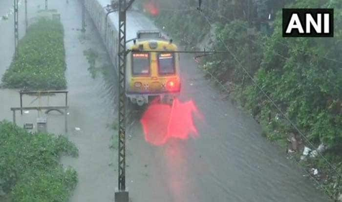 Mumbai Rains: Three Flights Diverted, Local Train Services Continue Normally