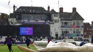 ICC Cricket World Cup 2019 1st Semifinal HIGHLIGHTS: Rain Shifts India-New Zealand Semis on Wednesday, Play to Continue on Reserve Day at 3 PM