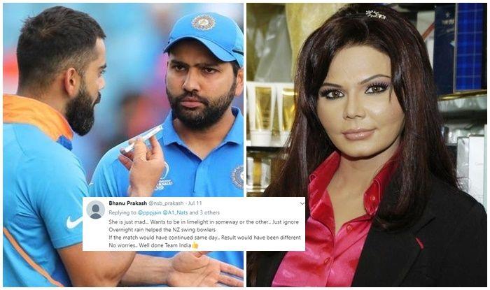 Rakhi Sawnt accuses Virat-Rohit of honeymoon during World Cup, Rakhi Sawant trolled, Rakhi Sawant accuses Virat-Rohit, Rohit Sharma, Virat Kohli, Rohit-Kohli, ICC Cricket World Cup 2019, Cricket News, Rohit Sharma should captain Team India, ICC World Cup 2023, 2023 World Cup, Rohit Sharma Team India Captain, Virat Kohli-Rohit Sharma, India vs New Zealand, Cricket News