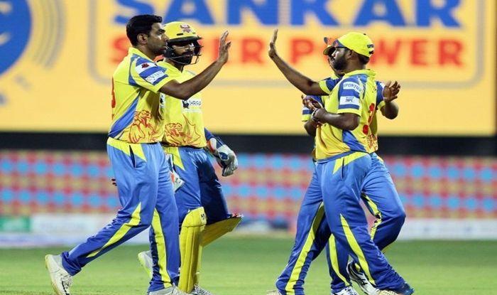 Ravichandran Ashwin, Dinesh Karthik, Ashwin clean bowls Karthik, TNPL 2019, Tamil Nadu Premier League, TNPL T20 Cricket, R Ashwin TNPL 2019, Ashwin dismiss Dinesh Karthik, Ashwin-Karthik TNPL 2019, Cricket News, Ashwin vs Karthik, Dindigul Dragons vs Karaikudi Kaalai, Dindigul Dragons beat Karaikudi Kaalai