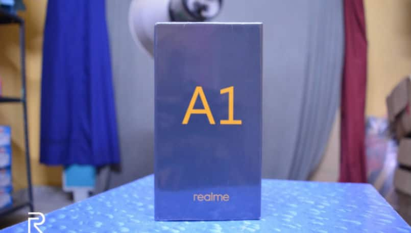 Realme A1 retail box leaks ahead of official launch