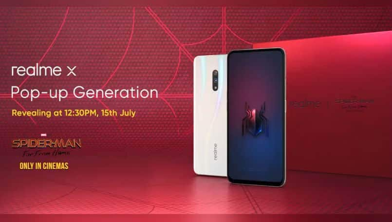 Realme X India launch has been set for July 15
