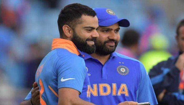Rohit Sharma, Virat Kohli, ICC T20I Rankings, Shikhar Dhawan, Team India, Mujeeb ur Rahman, T20I rankings for batsmen, T20I Rankings for bowlers, Jasprit Bumrah, Rohit-Kohli move up in T20I Rankings, Team India, Cricket News, India vs South Africa 2019, Rashid Khan, Hazratullah Zazai, George Munsey