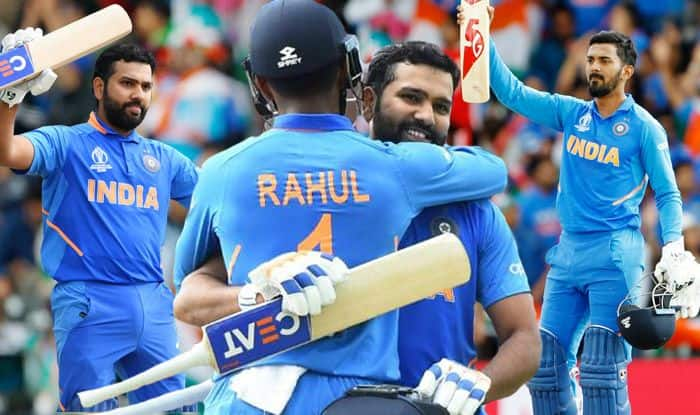 ICC Cricket World Cup 2019, IND beat SL World Cup 2019, IND vs SL World Cup 2019, KL Rahul, Rohit Sharma, Rohit Sharma Record-Breaking Hundred, KL Rahul Century, Rohit Sharma Hundred, Virat Kohli, Lasith Malinga, Dimuth Karunaratne, IND vs SL World Cup Report, IND vs SL Match Report, Cricket News, World Cup Match Report, IND vs SL WC 2019