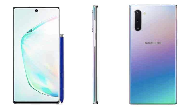 Samsung Galaxy Note 10 leaked official renders leaves very little to the imagination