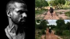 WATCH: Shikhar Horseriding Like 'Gabbar' Ahead of Windies Selection Would Bring a Smile on Your Face