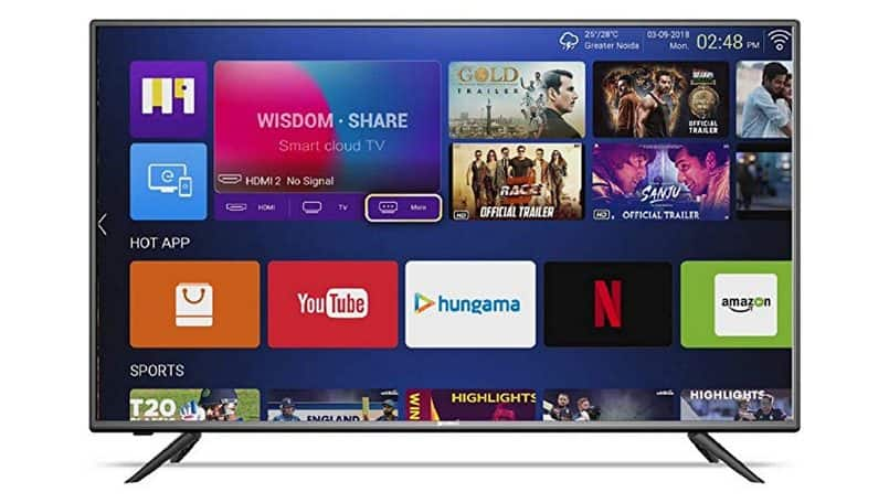 Shinco 49-inch Smart LED TV launched in India, priced at Rs 23,999
