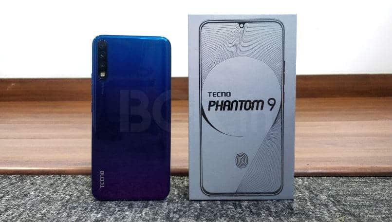 Tecno Phantom 9 with in-display fingerprint sensor, 6GB RAM, triple cameras launched in India