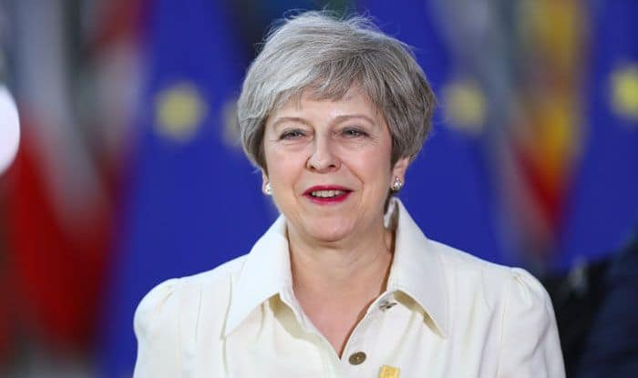 Theresa May, British PM, Abba, Dancing Queen, Henley Festival