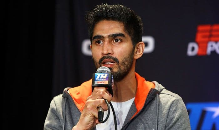 Vijender Singh, Mike Snider, Newark, New Jersey, Boxing Championship