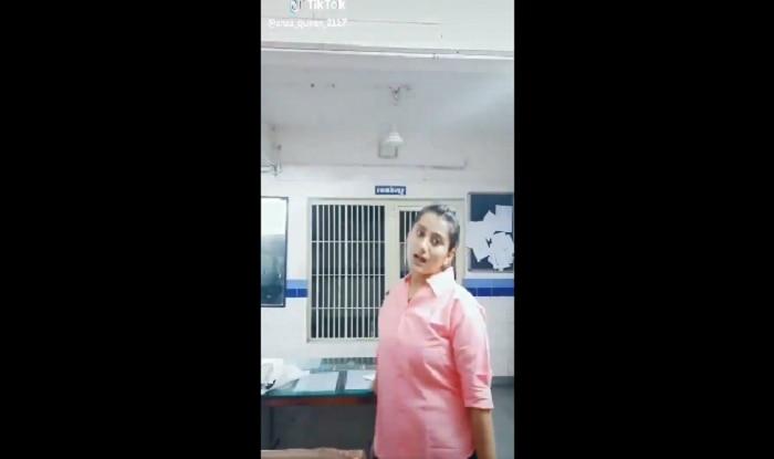 Gujarat: Female Cop Suspended For Recording TikTok Video Inside Police Station | Watch