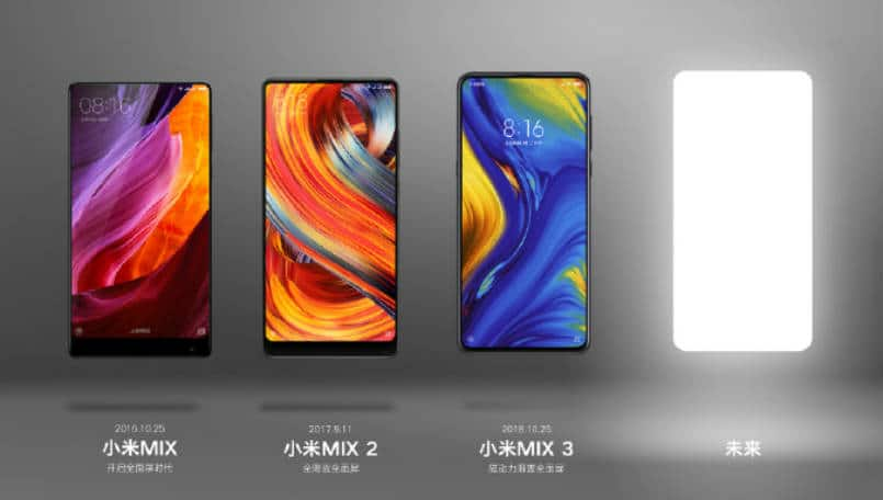 Xiaomi Mi MIX 4 teased ahead of its launch, hints at a 64-megapixel camera