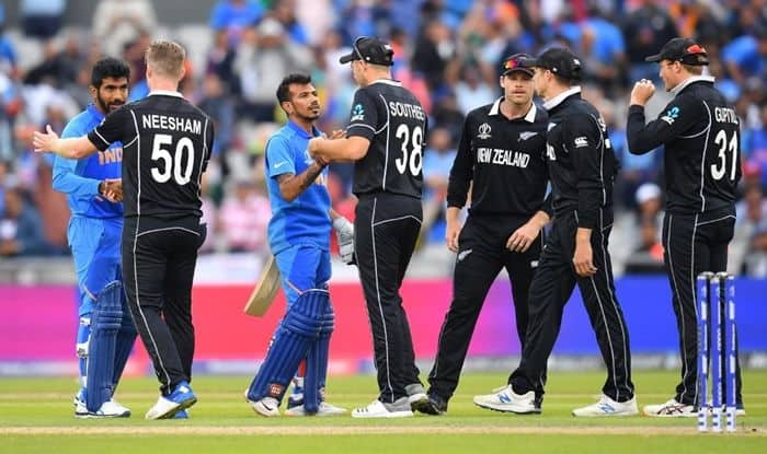 ICC Cricket World Cup 2019, World Cup 2019, New Zealand beat India World Cup, NZ vs IND World Cup Report, IND vs NZ World Cup 2019, Cricket News, Kane Williamson, Virat Kohli, Ravindra Jadeja, MS Dhoni, IND lose to NZ in World Cup Semifinal, Old Trafford, Manchester