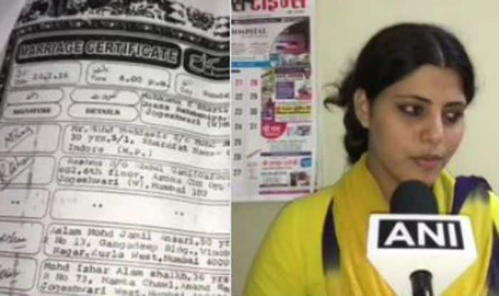 Former Bhojpuri and Hindi film actor Alina Shaikh's husband Muddasir Baig hands her talaq in installments