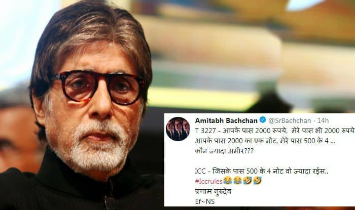 After Paresh Rawal, Anurag Kashyap, Amitabh Bachchan Criticises ICC For 'Boundary Rule'