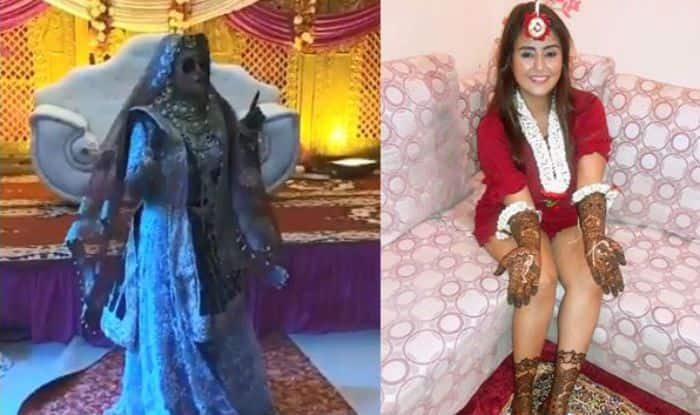Bhojpuri Hot Actor Akanksha Awasthi Dances With Right Moves And Thumkas on Her Wedding -Watch Viral Video