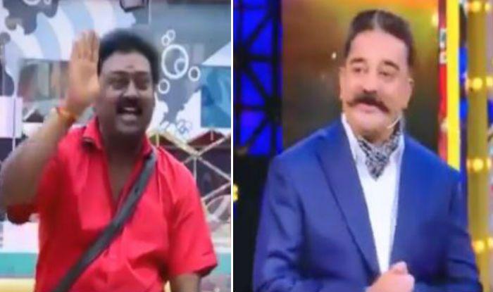 Bigg Boss Tamil 3, kamal haasan, saravanan, Chinmayi Sripaada