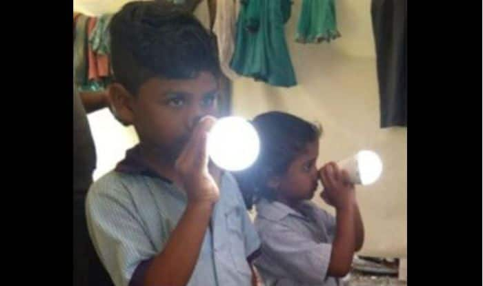 Trick or Miracle? Adilabad Siblings Can Turn on a Light Bulb by Simply Touching it