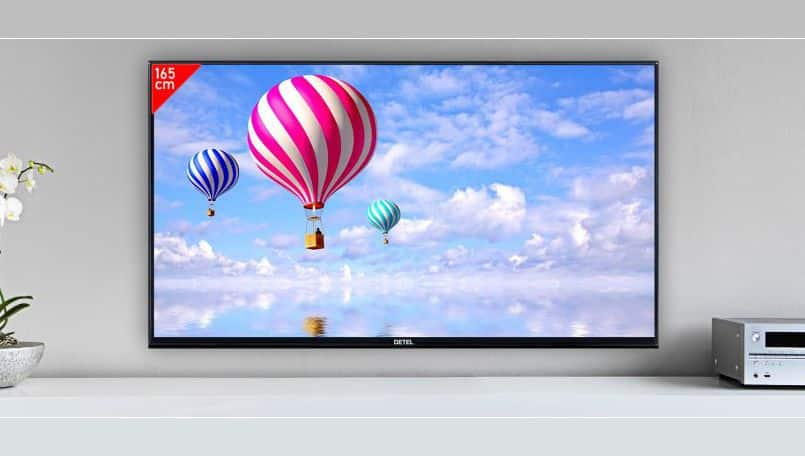 Detel launches 65-inch Android Smart 4K LED TV for Rs 57,999