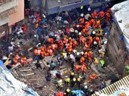 Mumbai Building Collapse LIVE