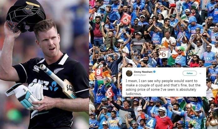 James Neesham, James Neesham to Indian Fans, ICC Cricket World Cup 2019, ICC World Cup 2019, England vs New Zealand, New Zealand vs England World Cup Final, Neesham Requests Indian Fans, Cricket News, India vs New Zealand, Lord's Cricket Ground, World Cup Final Tickets