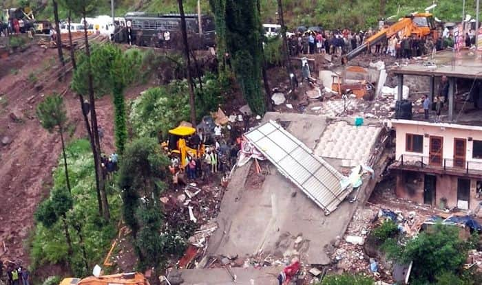 Himachal Pradesh: 2 Dead, 22 Rescued as Dhaba Collapses Owing to Heavy Rains