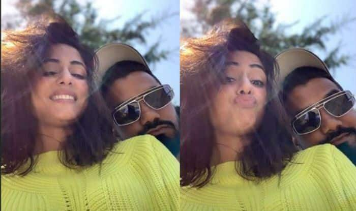Hina Khan And Rocky Jaiswal Give Couple Goals as They Share Mushy Love in These Romantic Pictures