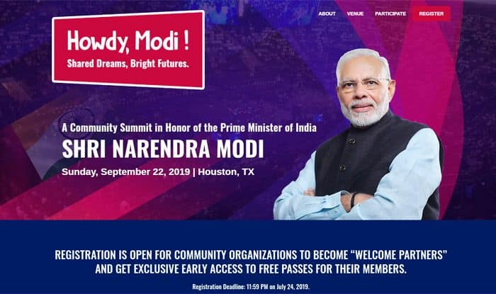 'Howdy Modi!' Indian-American Community Set to Welcome PM For Address in US on Sept 22