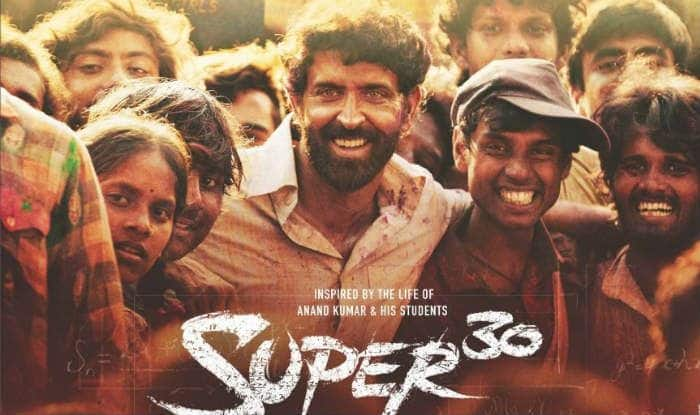 Super 30 poster featuring Hrithik Roshan (File Photo)