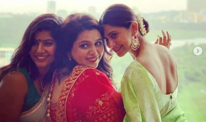 Jennifer Winget Plays The Perfect Bridesmaid in Pastel Green Saree at Best Friend's Wedding, Shares Heartfelt Note For Her