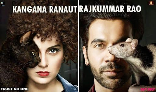 Kangana Ranaut-Rajkummar Rao's JudgeMentall Hai Kya posters accused of plagiarism by Hungarian freelance artist Flora Borsi