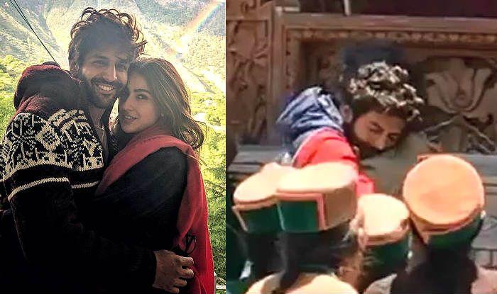 Kartik Aaryan Sheds Tears as he Hugs Imtiaz Ali After Wrapping up His Film With Sara Ali Khan – Viral Video