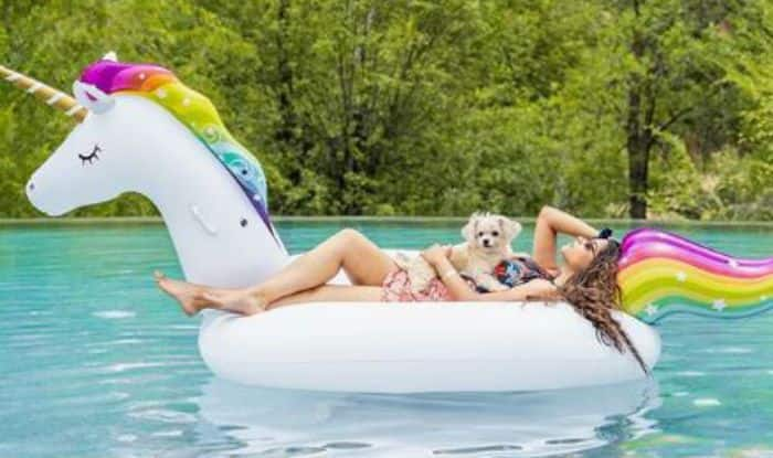 Superwoman AKA Lilly Singh's Dreamy Unicorn Floatie, Pool Pictures And 'Gyaan' Sum up Perfect Friday Treat!