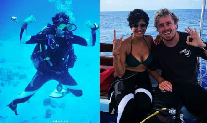 Mandira Bedi's Underwater Pictures During Scuba Diving is The Perfect Example to Beat The Heat