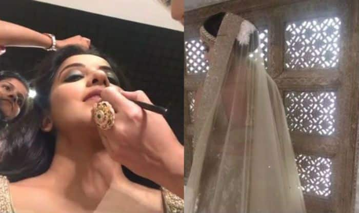 Bhojpuri Hottie And Nazar Actor Monalisa Looks Like a Dream in Bridal Avatar, See Beautiful Pictures