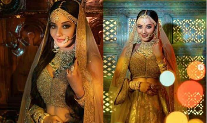 Bhojpuri Hottie And Nazar Actor Monalisa Aka Mohona Looks Gorgeous And Stunning as Bride, Fans Can't Keep Calm