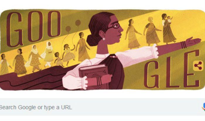 Google Doodle Celebrates 133rd Birth Anniversary of Padma Bhushan Dr Muthulakshmi Reddi, India's First Woman Legislator