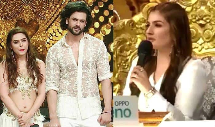 Vishal Aditya Singh Disrespects Raveena Tandon on Nach Baliye 9 by Refusing to Hug Madhurima Tuli?