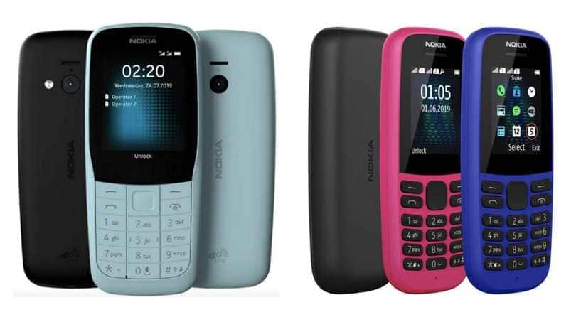 Nokia 220 4G, Nokia 105 (2019) feature phones announced: All you need to know