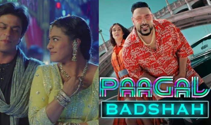 Badshah song paagal, shah rukh khan, kajol, Yeh Ladka Haye Allah, mashups, badshah singer,shahrukh khan movies, kajol devgan
