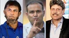 Talking About Dhoni's Retirement, Sehwag Attacks Sandeep Patil, Kapil Dev on National TV