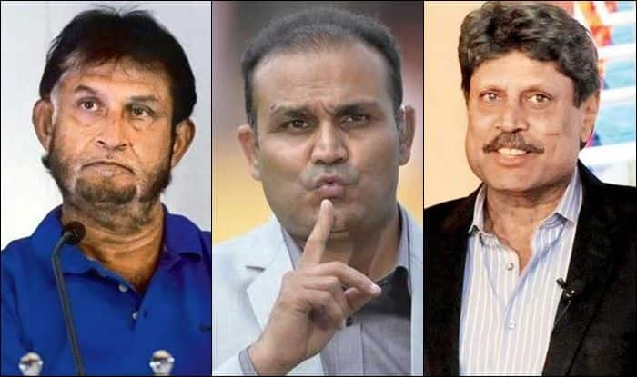 Virender Sehwag, Virender Sehwag controversy, Virender Sehwag-Sandeep Patil controversy, Sehwag attacks former selector on national television, Virender Sehwag attacks Kapil Dev, Kapil Dev, Sandeep Patil, Latest cricket news, MS Dhoni retiremenet, Dhoni retirement news, MS Dhoni, Team India, MS Dhoni Retirement, Virender Sehwag on MS Dhoni, Virender Sehwag on MS Dhoni retirement, Sehwag speaks about Dhoni's retirement, Mahendra Singh Dhoni, MS Dhoni-Team India, BCCI, Men in Blue, India tour of West Indies 2019, India vs West Indies, Virender Sehwag news, Sandeep Patil news, Kapil Dev news,