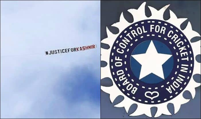 BCCI, Aircraft Banner Justice for Kashmir, Plane flying over India vs Sri Lanka, IND vs SL, ICC World Cup 2019, Kashmir, Mob Lynching, Plane flying with banner justice for kashmir, plane flying over headingley, Aircraft carrying banner justice for kashmir flies over Headingley, Aircraft carrying banner justice for kashmir flies ove India vs Sri Lanka match